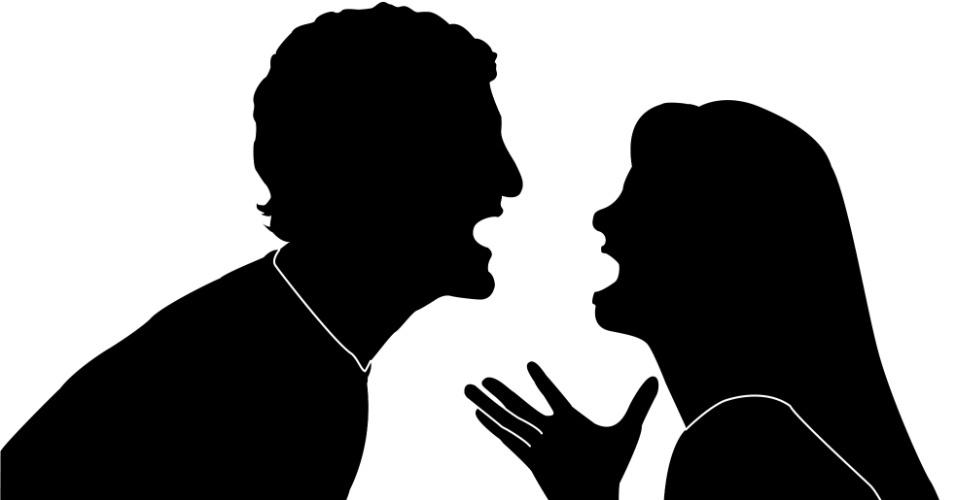 Resultado de imagem para desenho de agressão de casal